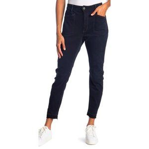 Free People $98 Ivy Mid Rise Released Hem Jeans